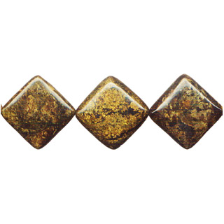 BRONZITE FLAT DICE 25MM