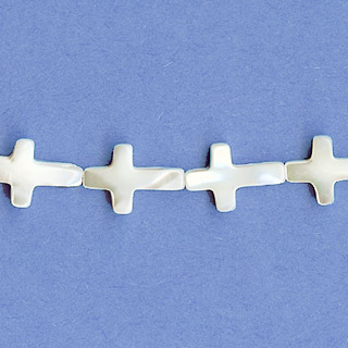 MOP(WHIte) CROSS 10X15MM