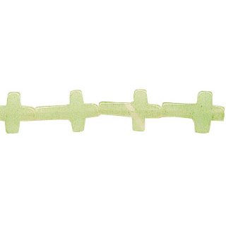NEW JADE CROSS 10X15MM