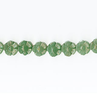 AVENTURINE FLOWER 12MM