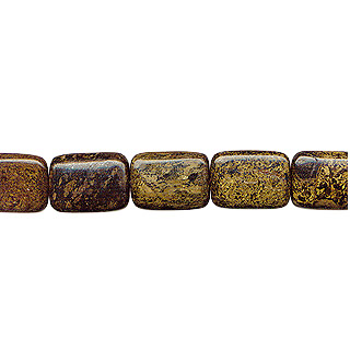 BRONZITE RECTANGLE 18X25MM