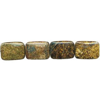 BRONZITE RECTANGLE 22X30MM