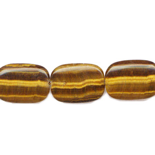 TIGER EYE RECTANGLE 25X35MM