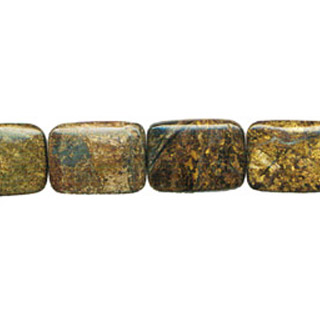 BRONZITE RECTANGLE 30X40MM