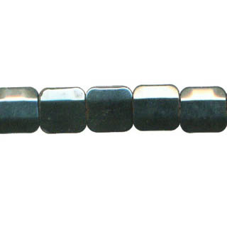 HEMATITE 4 FACE RECTANGLE 10X10MM