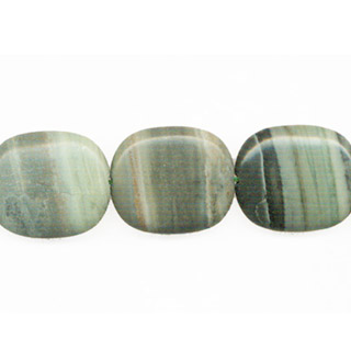 GREEN PICASSO JASPER TV SHAPE 24X28MM