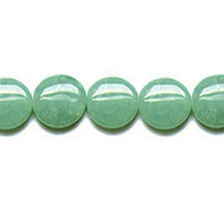 AVENTURINE COIN 25MM