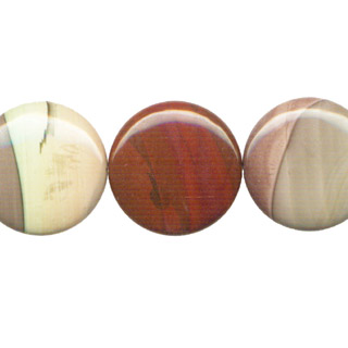 IMPERIAL JASPER DISC 30MM
