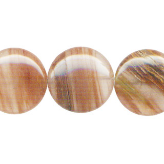 RED RUTILATED QUARTZ DISC 40MM
