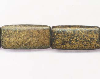 BRONZITE RECTANGLE 20X40MM