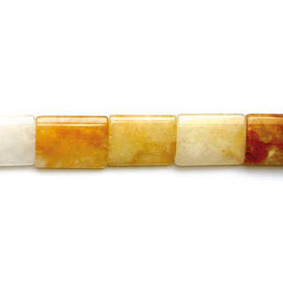 YELLOW QUARTZ OVAL TUBE 25X35MM