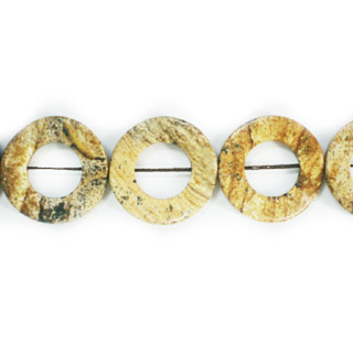 PICTURE JASPER TWIST DOUNTS 25MM