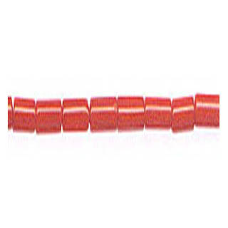 HEISHI 2X4MM DYED RED CORAL
