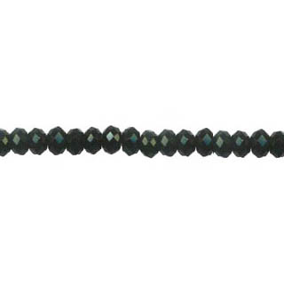 BLACK ONYX FACETED ROUNDELLE 08MM