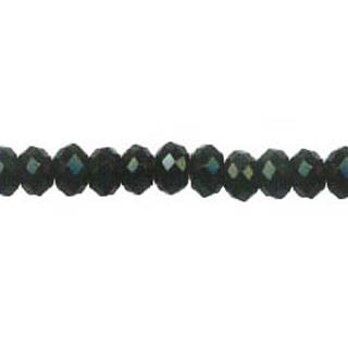 BLACK ONYX FACETED ROUNDELLE 12MM
