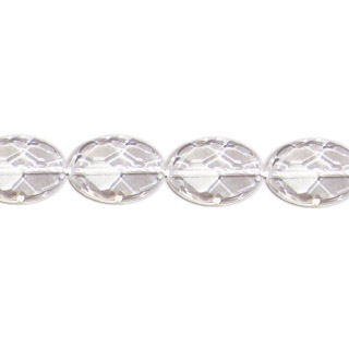 CRYSTAL FACETED OVAL 15X20MM
