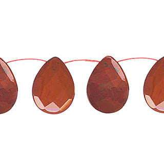 RED JASPER22X30F. PEAR SD
