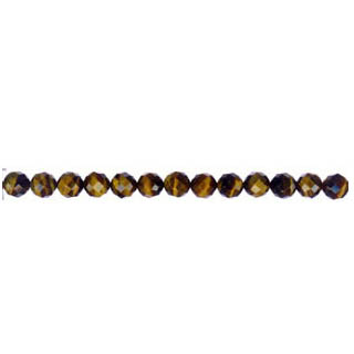 TIGER EYE FACETED ROUND 04MM