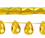 YELLOW TOPAZ QUARTZ (GLASS)