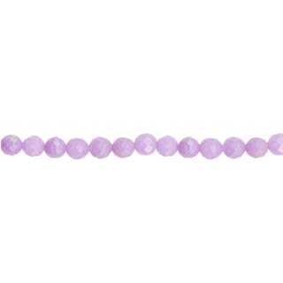 DYED JADE FACETED 04MM LAVENDER