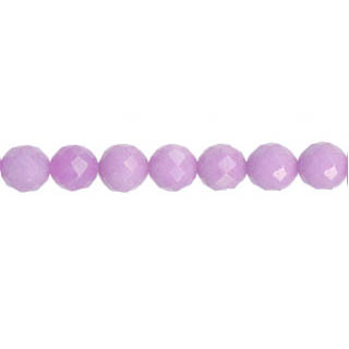 DYED JADE FACETED 06MM LAVENDER