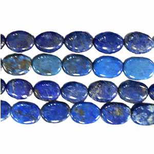 LAPIS FLAT OVAL 12X16MM