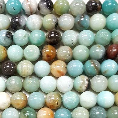 MULTU AMAZONITE 10MM