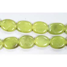 OLIVE JADE FREEFORM 15X20MM
