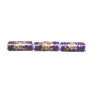 PORCELAIN TUBE 9X23MM BL