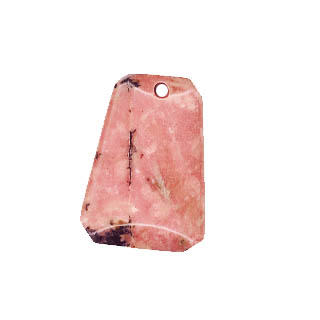 LADDER 22X30MM RHODONITE