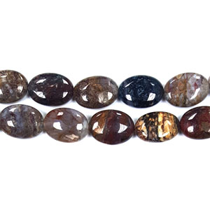 PIETERSITE FLAT OVAL 18X25MM