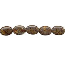 PIETERSITE FLAT OVAL 13X18MM