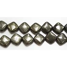 PYRITE FLAT DICE 12MM