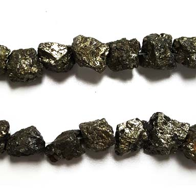 PYRITE ROUGH NUGGET 13MM