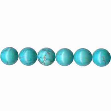 STABILIZED TURQUOISE 08MM