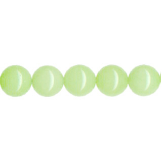 DYED JADE 10MM LIGHT GREEN