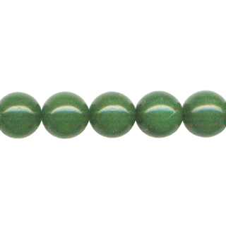 DYED JADE 10MM GREEN