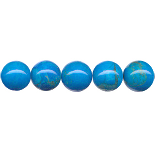 HOWLITE TURQUOISE 10MM