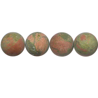 FROSTED UNAKITE 12MM