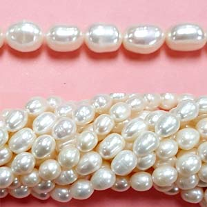 FRESHWATER PEARL RICE 8-8.5MM WHITE