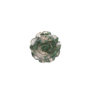 ROSE 20MM MOSS AGATE