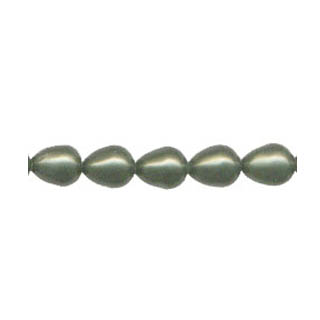 SHELL PEARL DESIGN BEADS10X12#610