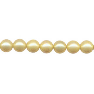 SHELL PEARL #203 08MM YELLOW