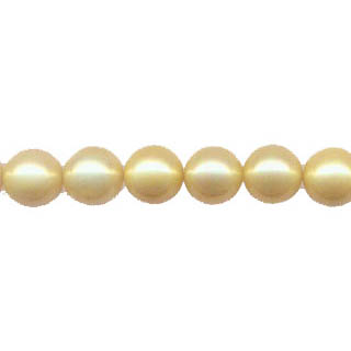 SHELL PEARL #203 10MM YELLOW
