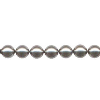 SHELL PEARL #212 12MM GRAY