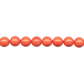SHELL PEARL PL243 06MM SALMON CORAL