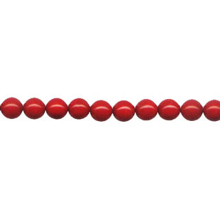 SHELL PEARL PL244 06MM RED CORAL