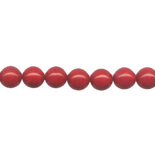 SHELL PEARL PL244 08MM RED CORAL
