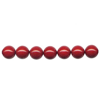 SHELL PEARL PL244 10MM RED CORAL