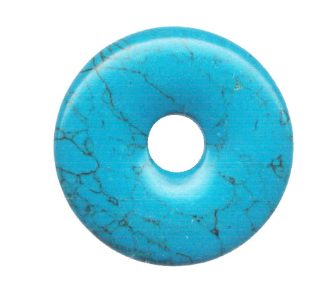 35MM DONUT SYNETHIC TURQUOISE